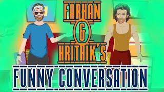 Farhan and Hrithik's funny conversation | Pallo Latke | What the Farhan | Ft. Mirchi Kunal