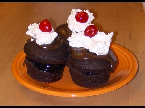 Black Forest Cupcakes Recipe with Michael's Home Cooking