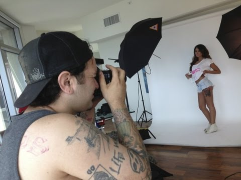 Certified Starz Clothing in Los Angeles, CA - Hot Models photo shoot