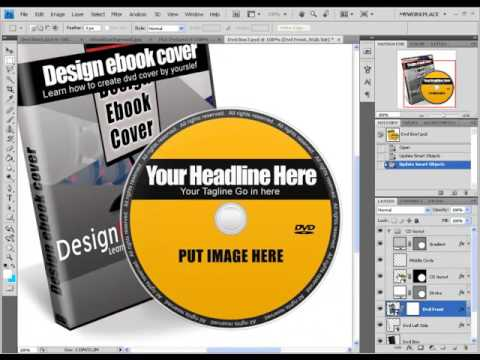 Design 3D DVD Cover All By Yourself With Photoshop