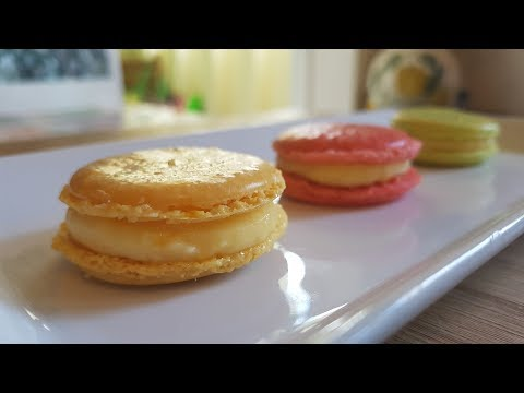 How To Make French Macarons & Orange Cream recipe