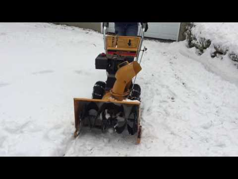 Snowblower troubleshooting