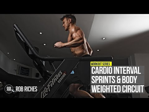 INTENSE FAT BURNER Interval Sprints & 5-Exercise Circuit