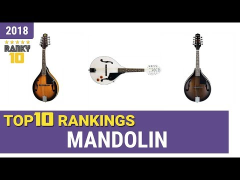 Best Mandolin Top 10 Rankings, Review 2018 & Buying Guide
