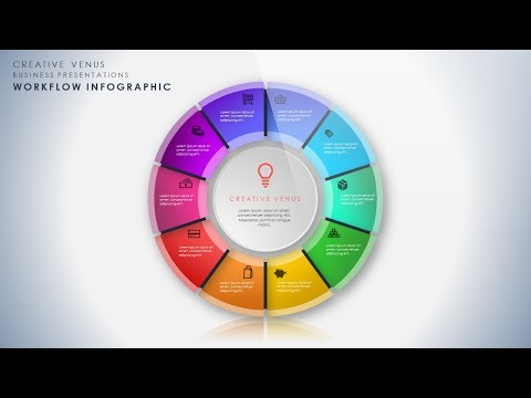How To Design Beautiful Workflow Process Infographic in Microsoft Office 365 PowerPoint PPT