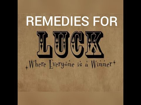 Remedies for success activate your luck