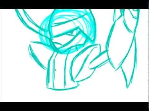 Bisharp Speed Drawing Pokemon Black & White