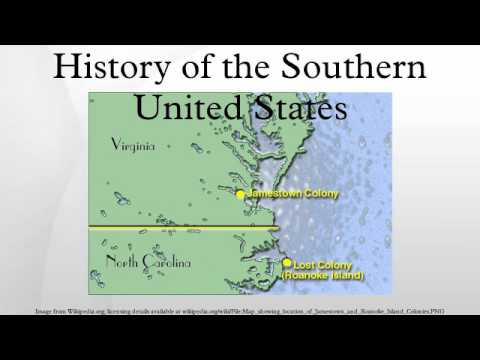 History of the Southern United States