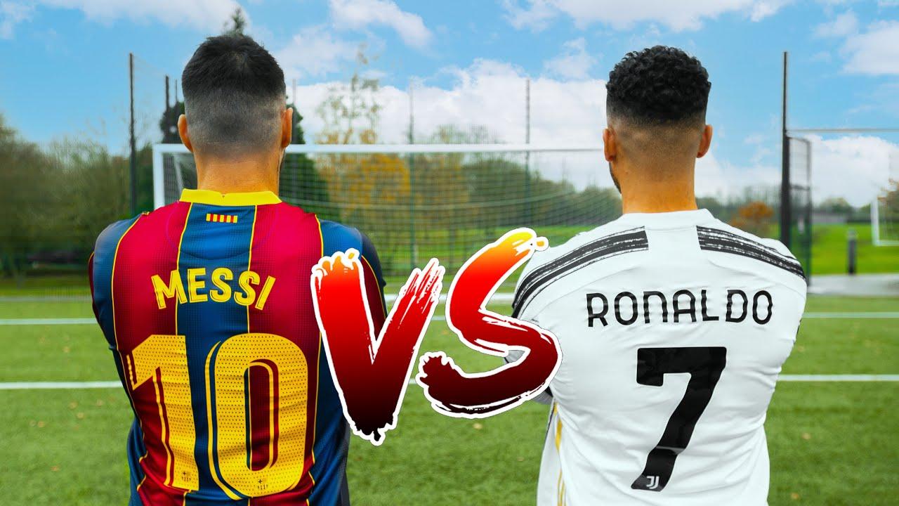 MESSI VS RONALDO 🐐