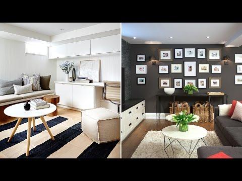 Interior Design –Bright & Beautiful Basement Design Ideas