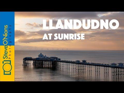 Landscape photography - Llandudno pier