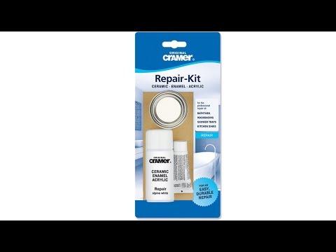 Cramer Enamel Ceramic Scratch & Chip Repair Kit From Byretech
