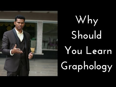 Why should  you learn Graphology