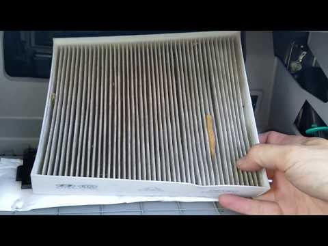 2017 Hyundai Sonata Cabin Air Filter Replacement Location