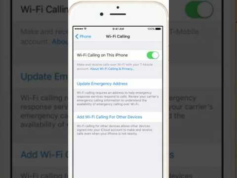 Make a call with Wi Fi Calling on your iPhone, iPad, or iPod touch