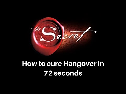 What to do after Hangover - Number 1 Home Remedy