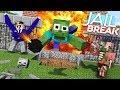 Monster School ZOMBIE JAILBREAK CHALLENGE Minecraft Animation