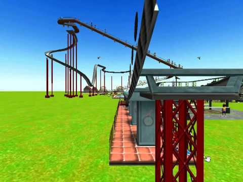 Roller Coaster Tycoon 3 (nine) - Chairlift