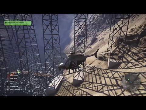 Squeeze helicopter Landing