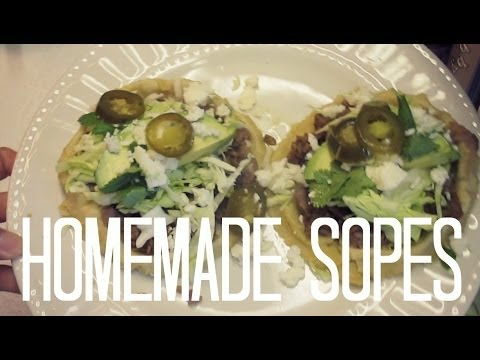 Homemade Sopes