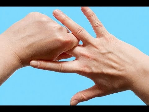 Hold Your Hand In This Position And The Effect Is Unbelievable!