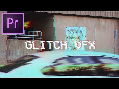 How to Make Glitch Video Effects in Adobe Premiere Pro CC 2017 Tutorial (VCR VHS Glitch Art Edit)