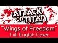 Jiyuu No Tsubasa Wings Of Freedom Full English Cover Female