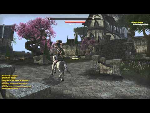 The Elder Scrolls Online: Altmeri Horse Riding
