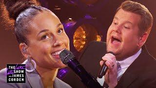 Download A Grammy Host Is Born - 'Shallow' Parody w/ Alicia Keys Video