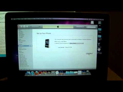 How To Restore A 6 15 00 iPhone 3Gs 3G To Firmware 4 1 And U