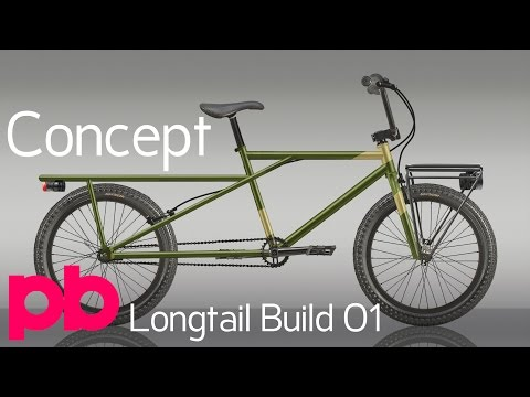 Longtail Bicycle Build 01 - Designing The Cargo Frame With BikeCAD and Concept in Photoshop