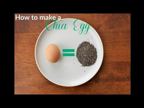 How to Make a Chia Egg