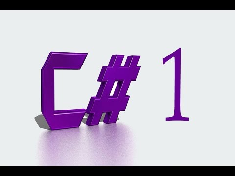 C# Tutorial # 1- for Absolute Beginners | Hello World Tutorial with tips and tricks