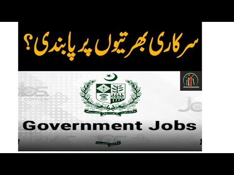 Ban on Government Jobs