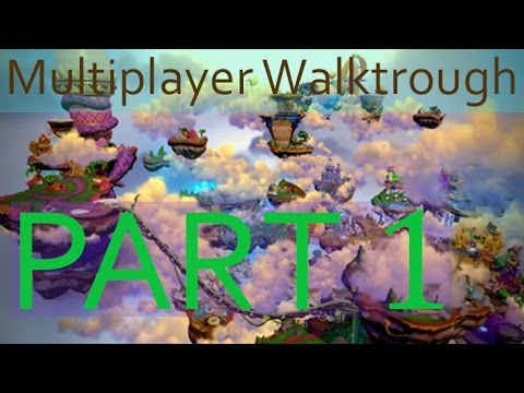 Skylanders Imaginators Multiplayer Walktrough Part 1