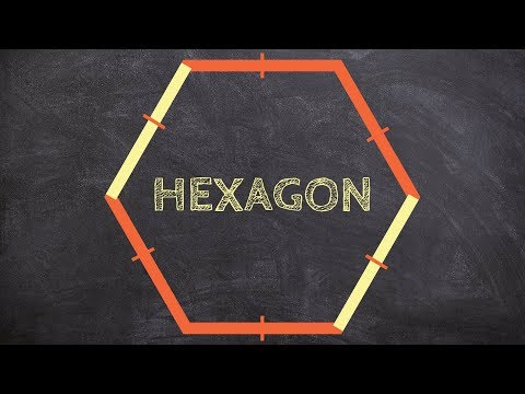Determine the measure of interior and exterior angles for a hexagon