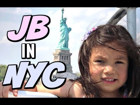 JB GETS TO SEE THE STATUE OF LIBERTY IN NY! -  ItsJudysLife Vlogs