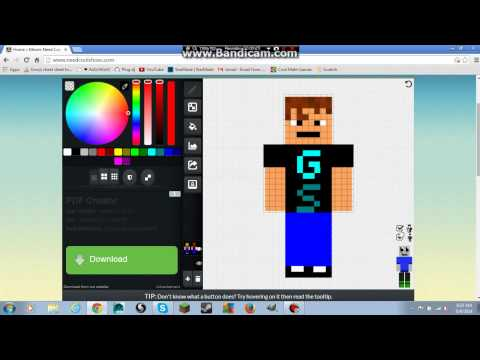 How to change your minecraft 1 8 skin