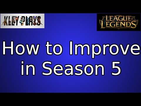 How To Improve in Season 5