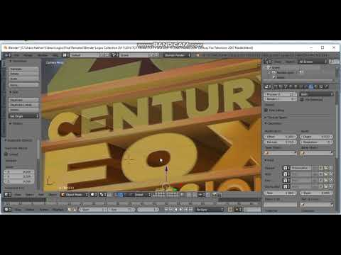 How to make the 20th Century Fox Television 2007 logo (Part 1)