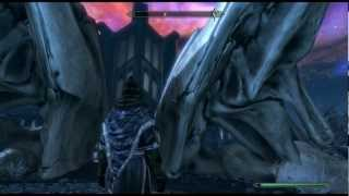 Skyrim Final Battle Defeating Alduin In Sovngarde Gameplay Hd 1080p