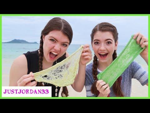 Beach Slime Making / JustJordan33