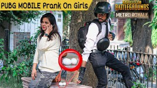 PUBG MOBILE - METRO ROYALE | Playing In Real Life | Prank On Girls | A.J Ahsan