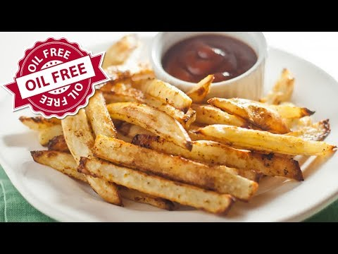 Perfect Oven-Baked Fries Recipe (Oil Free)