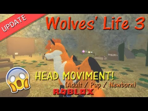 Roblox - Wolves' Life 3 - HEAD MOVIMENT! - HD