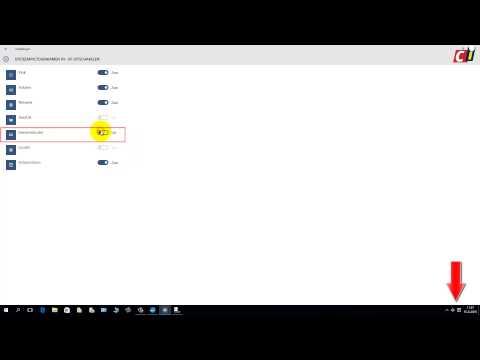 Toetsenbordinstelling in Windows 10