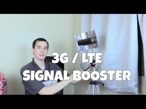 DIY 3G / LTE Signal Booster - Part 2
