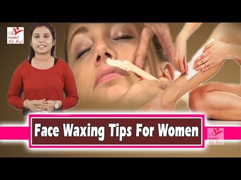 ध्यान रखें Face Waxing Tips For Women#Beauty Tips ! Vianet Lifestyle !!Beauty Tips