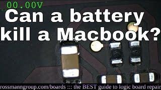 Can eBay battery kill a Macbook?