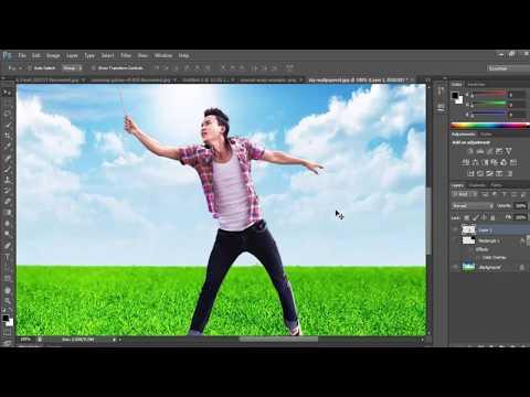 Photoshop Tutorial - Puppet Warp | Beginners
